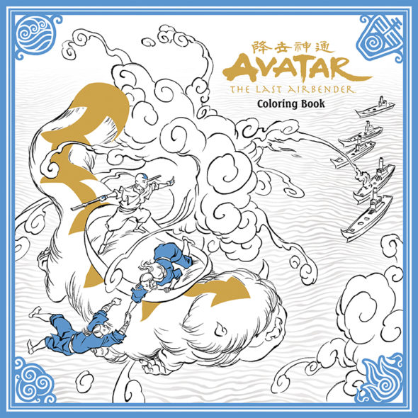 Avatar the Last Airbender TV show canceled. Dark Horse Publishes Avatar Coloring Book.