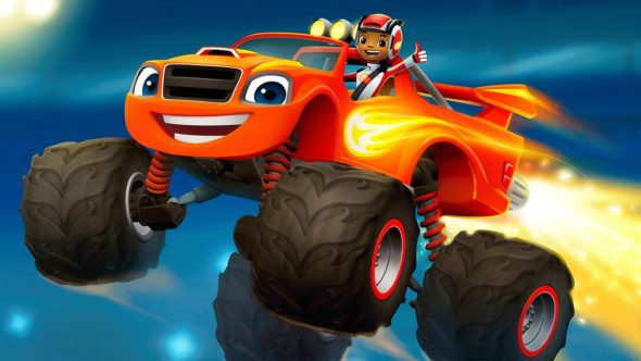 Blaze and the Monster Machines TV show on Nickelodeon: season 4 renewal.
