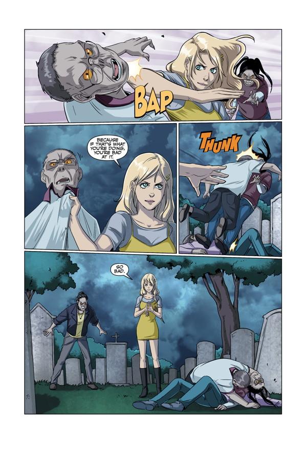 Buffy the Vampire Slayer TV show. Buffy: the High School Years comics; Freaks & Geeks Trade Paperback.
