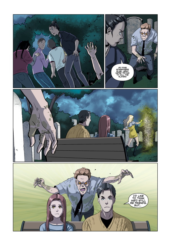 Buffy the Vampire Slayer TV show. Buffy: the High School Years comics; Freaks & Geeks Trade Paperback.