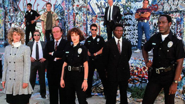 Cop Rock TV show on ABC: season 1 complete series on DVD; cancelled, no season 2.