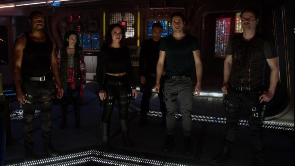 Dark Matter TV show on Syfy: season 2 (canceled or renewed?).