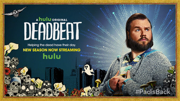 Deadbeat TV show on Hulu: canceled, no season 4.