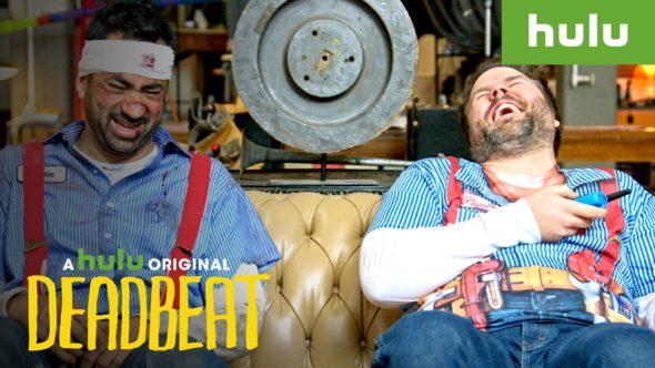 Deadbeat TV show on Hulu: canceled no season 4.