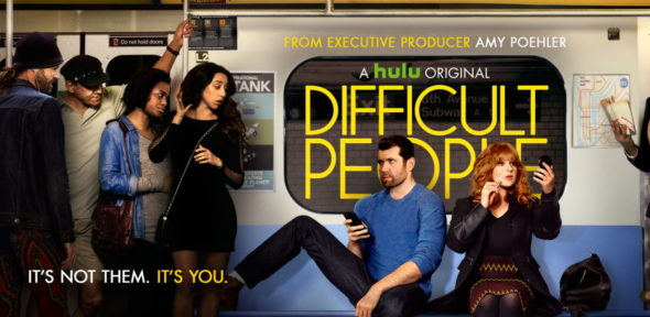 Difficult People TV show on Hulu: season 2 premiere (canceled or renewed?)
