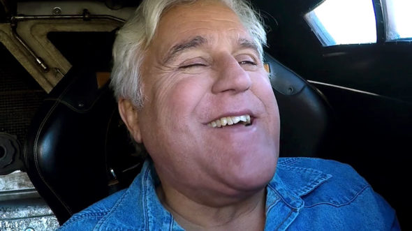 Jay Leno's Garage TV show on CNBC Adam West Classic Batmobile (canceled or renewed?).