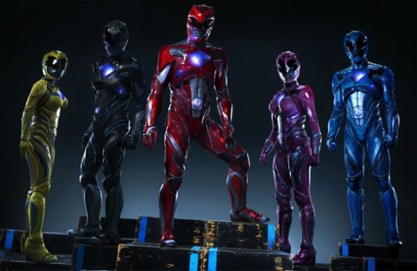 Mighty Morphin Power Rangers TV show sequel movie Power Rangers.