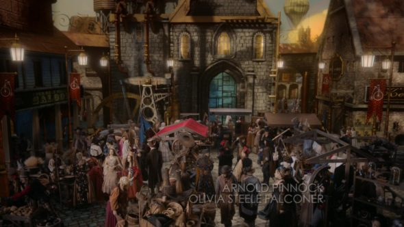 """Once Upon a Time TV show on ABC: season 5 finale, """"Untold Story,"""" the Land of Untold Stories."""