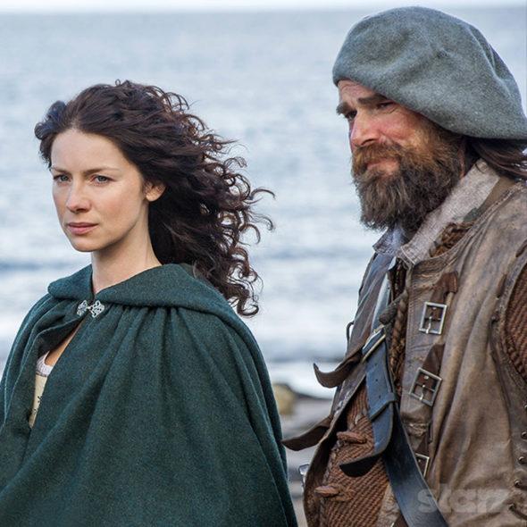 Outlander TV show on Starz: season 2 (canceled or renewed?).