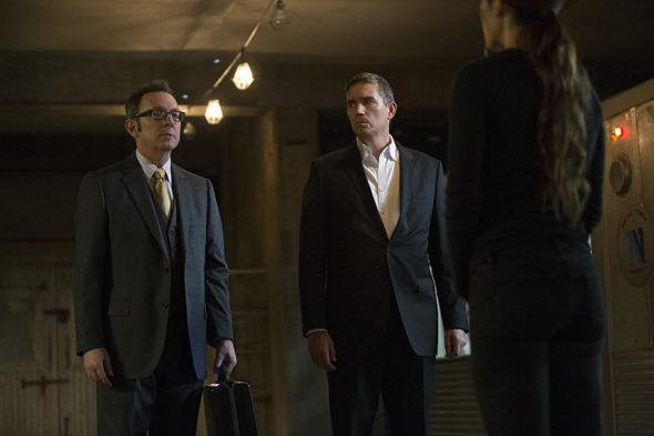 Person of Interest TV show on CBS canceled; season 5 finale; no season 6.