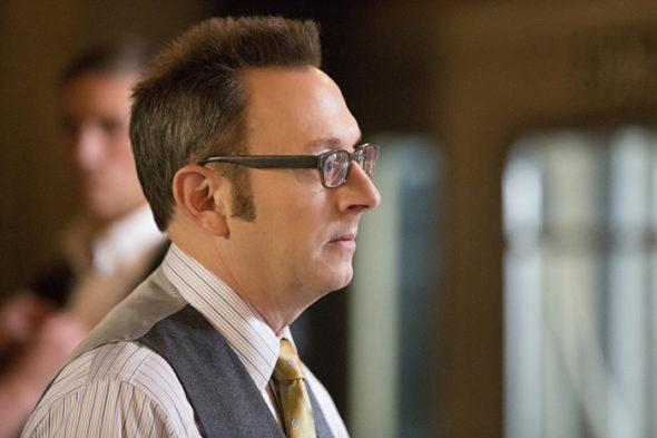 Person of Interest TV show on CBS: canceled; season 5 finale; no season 6. Michael Emerson.