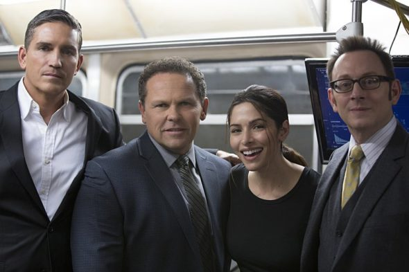 Person of Interest TV show on CBS- season 5 series finale, no season 6.