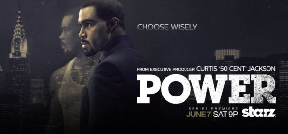 Power TV show on Starz: season 3 (canceled or renewed?).