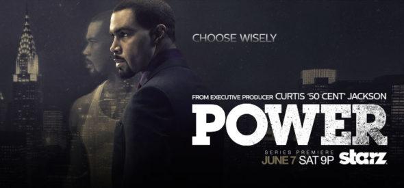 Power TV show on Starz: season 3 (canceled or renewed?).