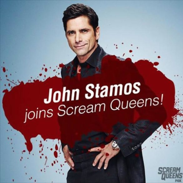 Scream Queens TV show on FOX: John Stamos joins second season cast of Scream Queens.