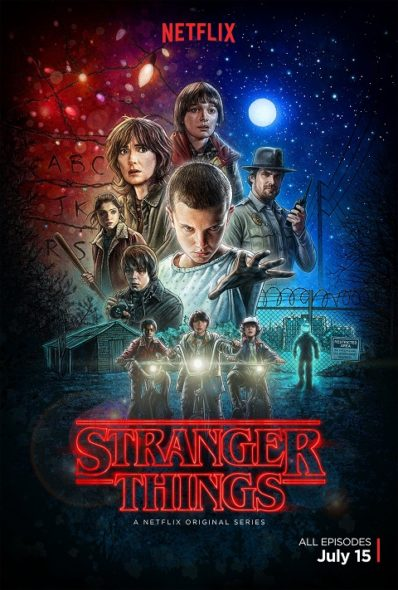 Stranger Things TV show on Netflix: season 1 (canceled or renewed?).