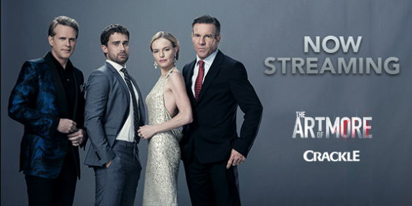 The Art of More TV show on Crackle: season 2 (canceled or renewed?).