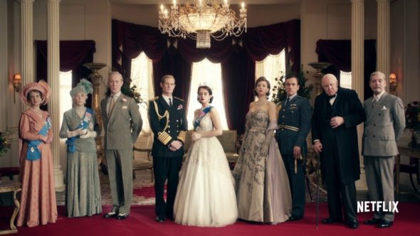 The Crown TV show on Netflix (canceled or renewed?).