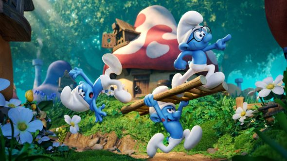 The Smurfs: The Lost Village: TV show feature film sequel coming in 2017 (canceled or renewed?).