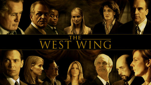 The West Wing TV show on NBC- Aaron Sorkin has not watched the three final seasons.