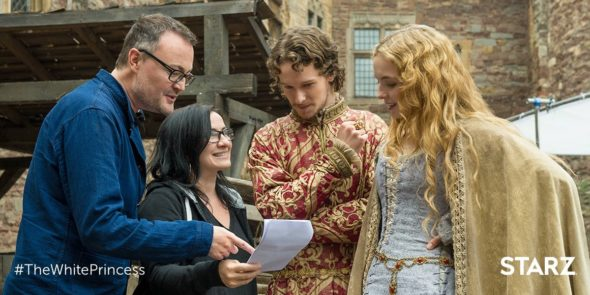 The White Princess TV show on Starz: season 1 (canceled or renewed)?