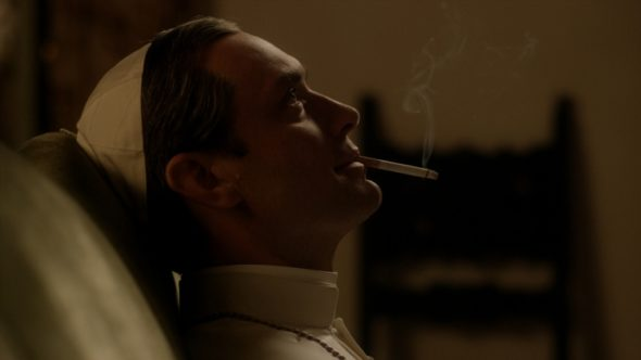 The Young Pope TV show on HBO and Sky: season 1 (canceled or renewed?).
