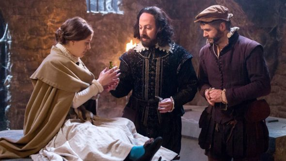 Upstart Crow TV series on BBC Two season two renewal commissioned.