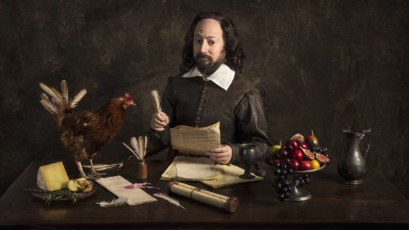 Upstart Crow TV show on BBC Two: season 2 renewal.