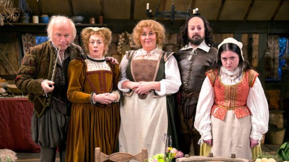 Upstart Crow TV show on BBC Two: season two renewal for young Shakespeare series.