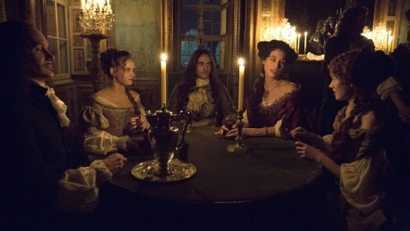 Versailles TV show on Ovation TV: season 1 (canceled or renewed?).