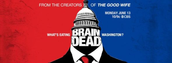 BrainDead TV show on CBS: ratings (cancel or renew?)