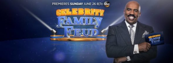 Celebrity Family Feud TV show on ABC: ratings (cancel or renew for season 3?)