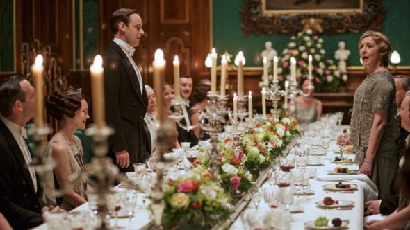 Downton Abbey TV show on PBS