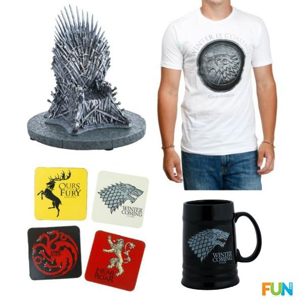 Game of Thrones TV show prizes