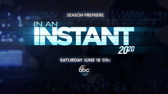 In an Instant TV show on ABC: ratings (cancel or renew?)