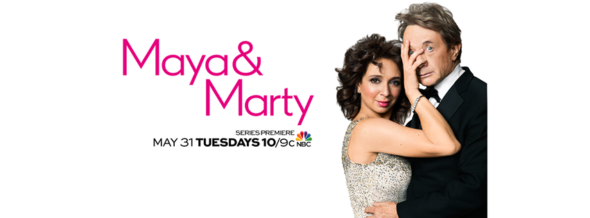 Maya and Marty TV show on NBC: ratings (cancel or renew for season 2?)