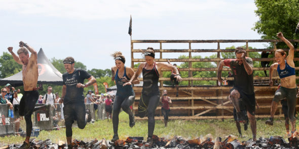 Check out photos of Friday Night Lights TV series stars Taylor Taylor Kitsch (Tim Riggins), Minka Kelly (Lyla Garrity), Zach Gilford (Matt Saracen), and Aimee Teegarden (Julie Taylor), reuniting outside Chicago, for a Spartan Race on June 11th.