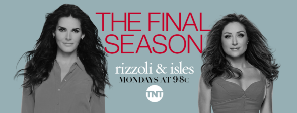 Rizzoli & Isles TV show on TNT: ratings (final season)