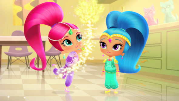Shimmer and Shine; Nickelodeon TV shows