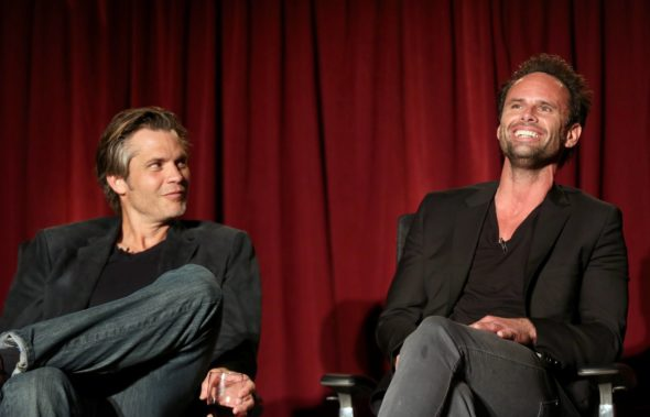 Justified TV show on FX: season 6 ended; no season 7 (canceled or renewed?).