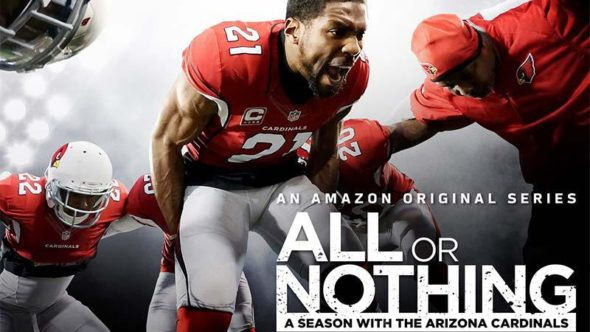 All Or Nothing TV show on Amazon: season two renewal.
