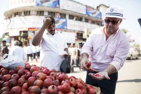 Andrew Zimmern's Driven By Food TV show on Travel Channel: season 1 (canceled or renewed?).