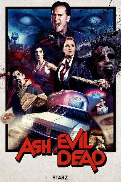 Ash Vs Evil Dead TV show on Starz: season 2 (canceled or renewed?).