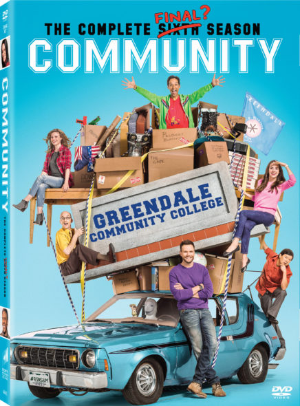 Dan Harmon says Community movie will happen. Community TV show on NBC and Yahoo: season 6 canceled, no season 7.
