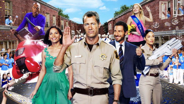 Eureka TV show on Syfy: premiered 10 years ago; Eureka anniversary; season 5 canceled, no season 6.
