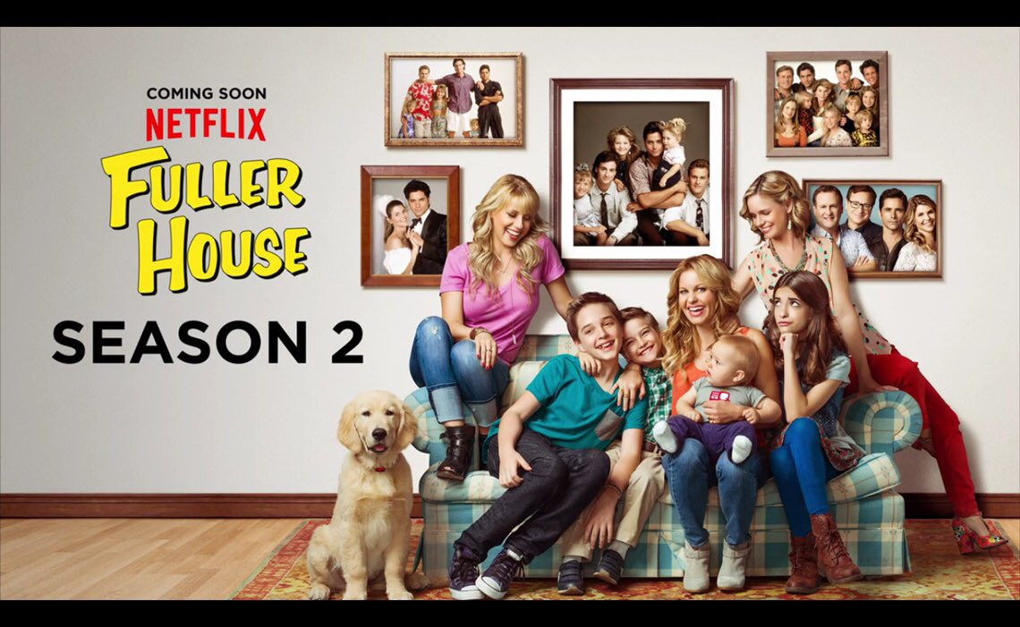 Fuller house season two netflix premiere date announced - House of tv show ...