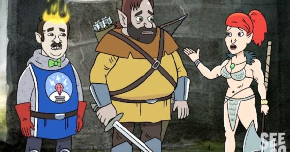 HarmonQuest TV show on Seeso season 1 (canceled or renewed?)