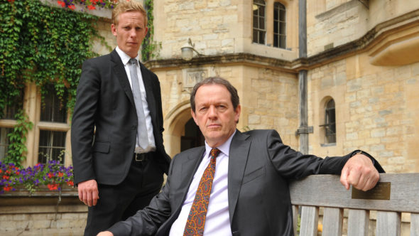 Inspector Lewis TV show on PBS: season 8; no season 9 (canceled or renewed?).