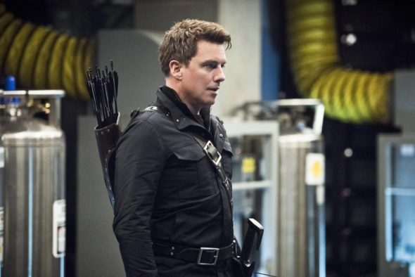 John Barrowman; Arrow TV show on The CW: season 5 (canceled or renewed?).