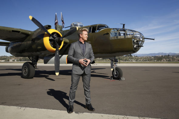 "MASTERCHEF: Host / Chef Gordon Ramsay in the all-new ""Vets, Jets and Home Cooks"" episode of MASTERCHEF airing Wednesday, July 13 (8:00-9:00 PM ET/PT) on FOX. CR: Greg Gayne / FOX. © 2016 FOX Broadcasting Co."